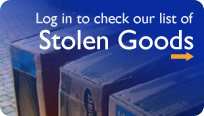 Log in to check our list of Stolen Goods