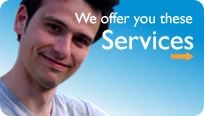 We offer you these Services